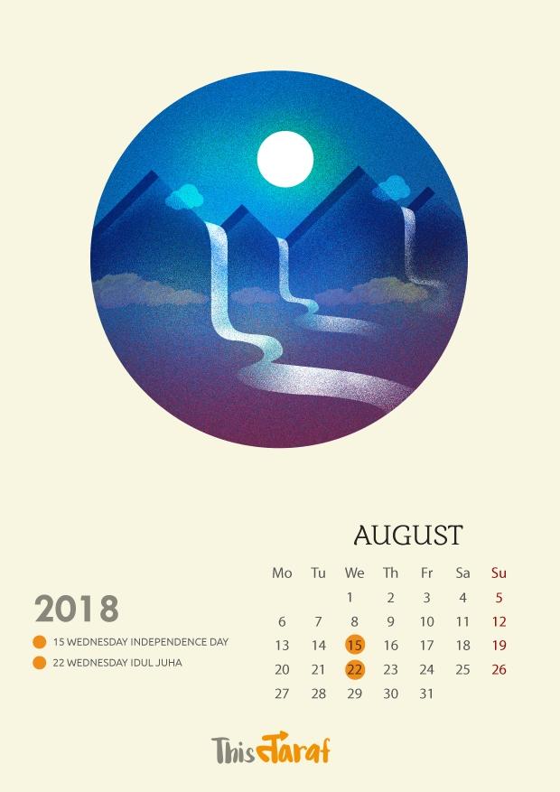 This Taraf_Calendar 2018-09