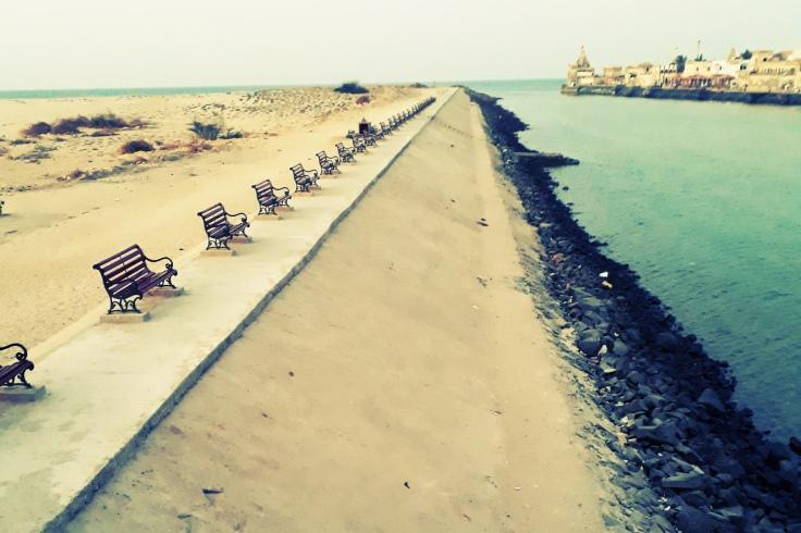 River Gomti Dwarka